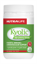 Nutra Life Kyolic (Aged Garlic Extract) High Potency Formula