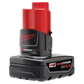 12 Volt Milwaukee (Tall Red Case)  Cordless Power Tool Batteries