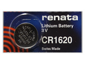 Renata CR1620 3V Lithium Coin Battery - 100 Pack + FREE SHIPPING!