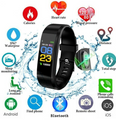 2019 Bluetooth Smartwatch - Pedometer, Calorie, Distance, Sleep Monitor, Water, Alarm