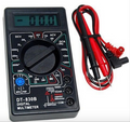 Digital Multimeter AC/DC Ammeter Voltmeter Ohm Electrical Tester Meter