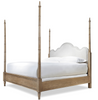 French Modern four poster bed frames, king size