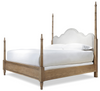 French Modern four poster bed king size