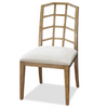 French Modern Slip Upholstered Dining Chair