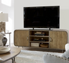 French Modern Industrial Wood + Metal TV Media consoles
