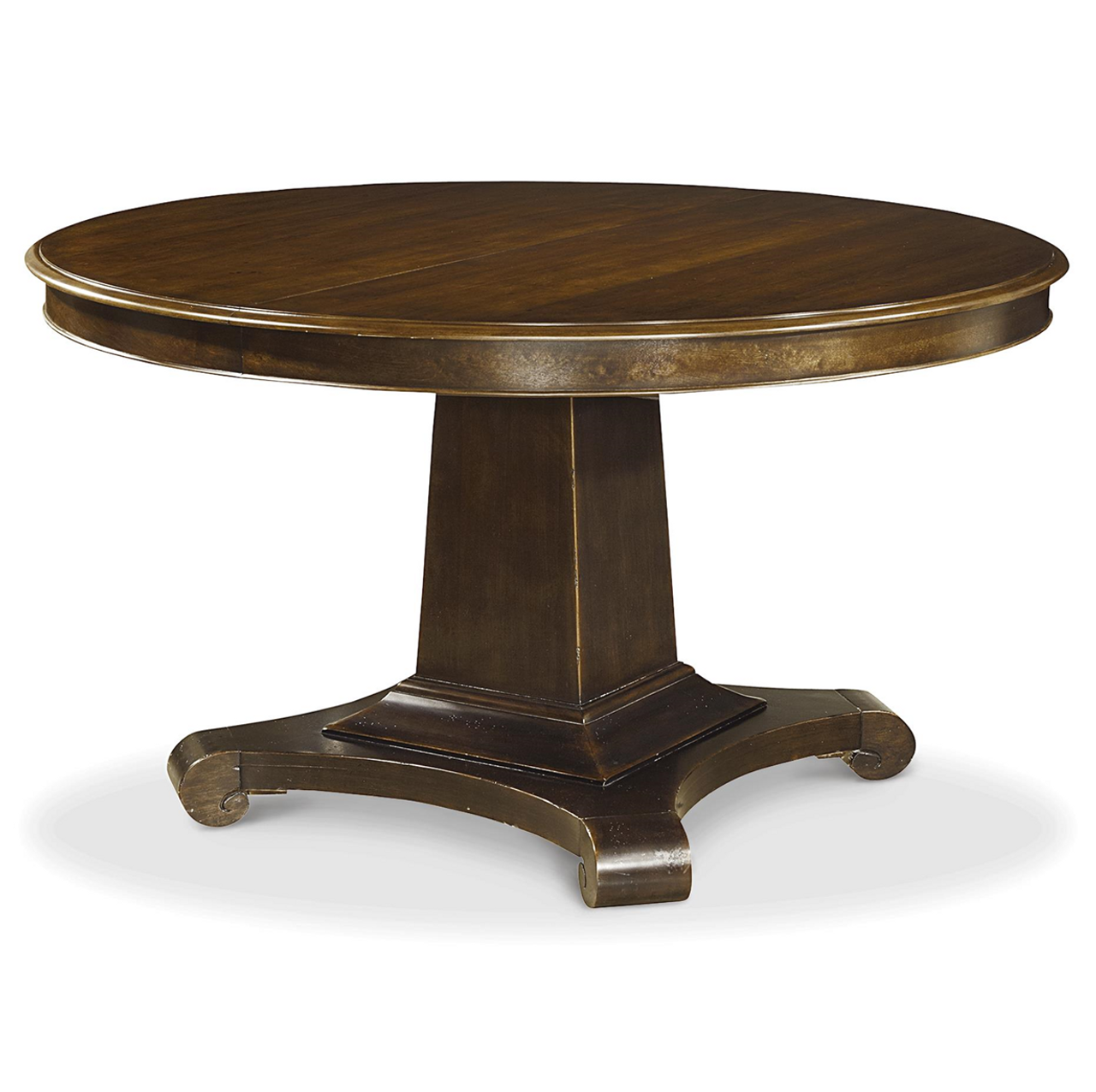 sonoma vintage heirloom round extending dining table zin home