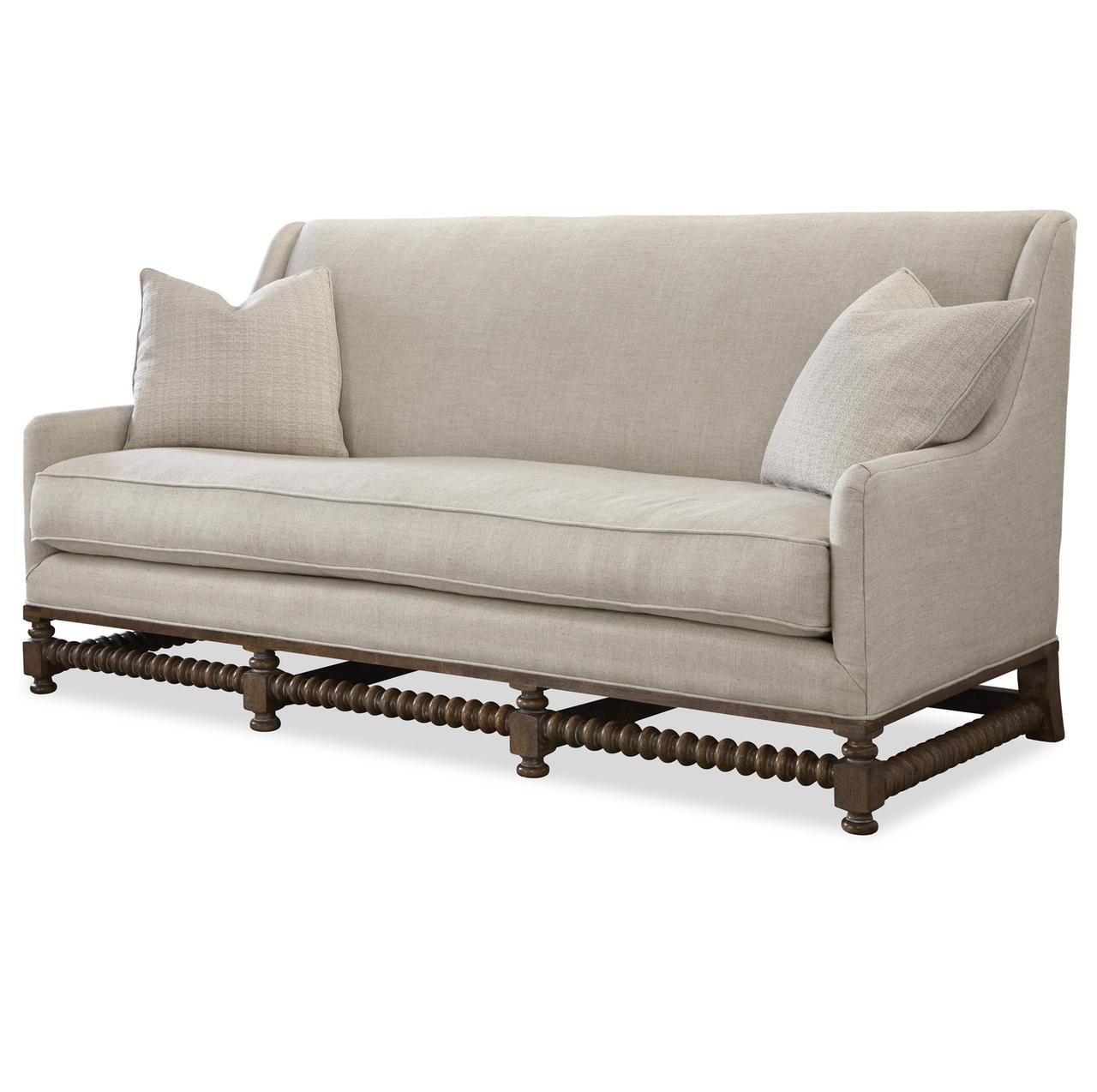 Sundance Bohemian Linen Upholstered Sofa Settee