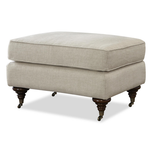 Upholstered ottoman tufted leather ottomans zin home