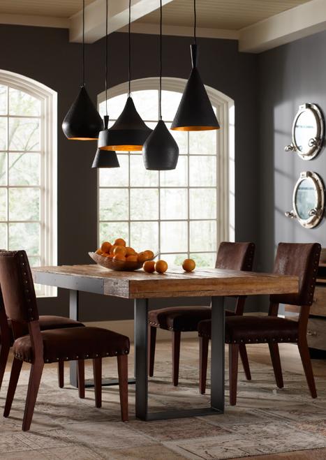 industrial kitchen table furniture. bina graham industrial reclaimed wood 84 kitchen table furniture l