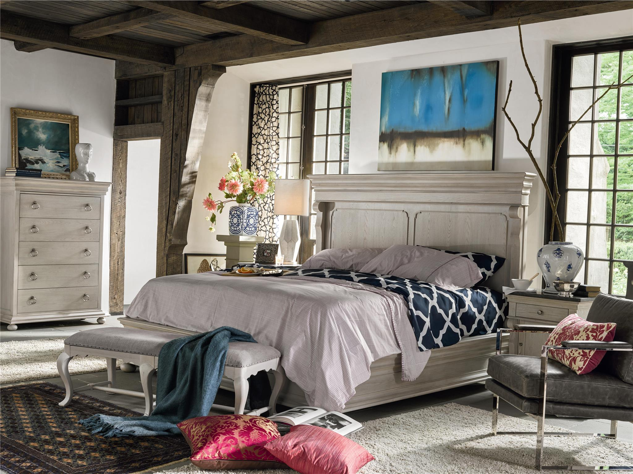 Belgian Cottage Style Bedroom Design