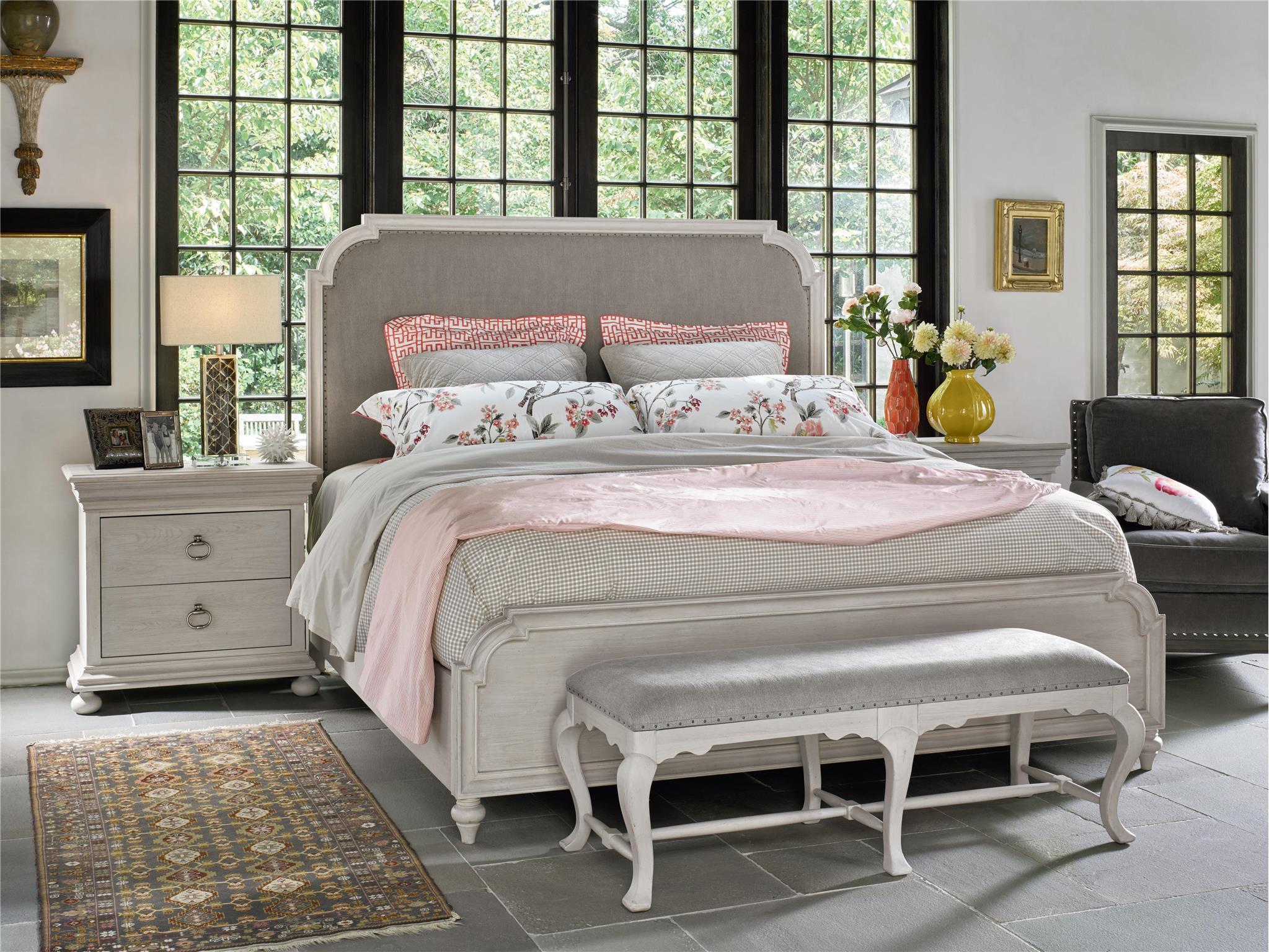 Belgian Country Style Bedroom Decor