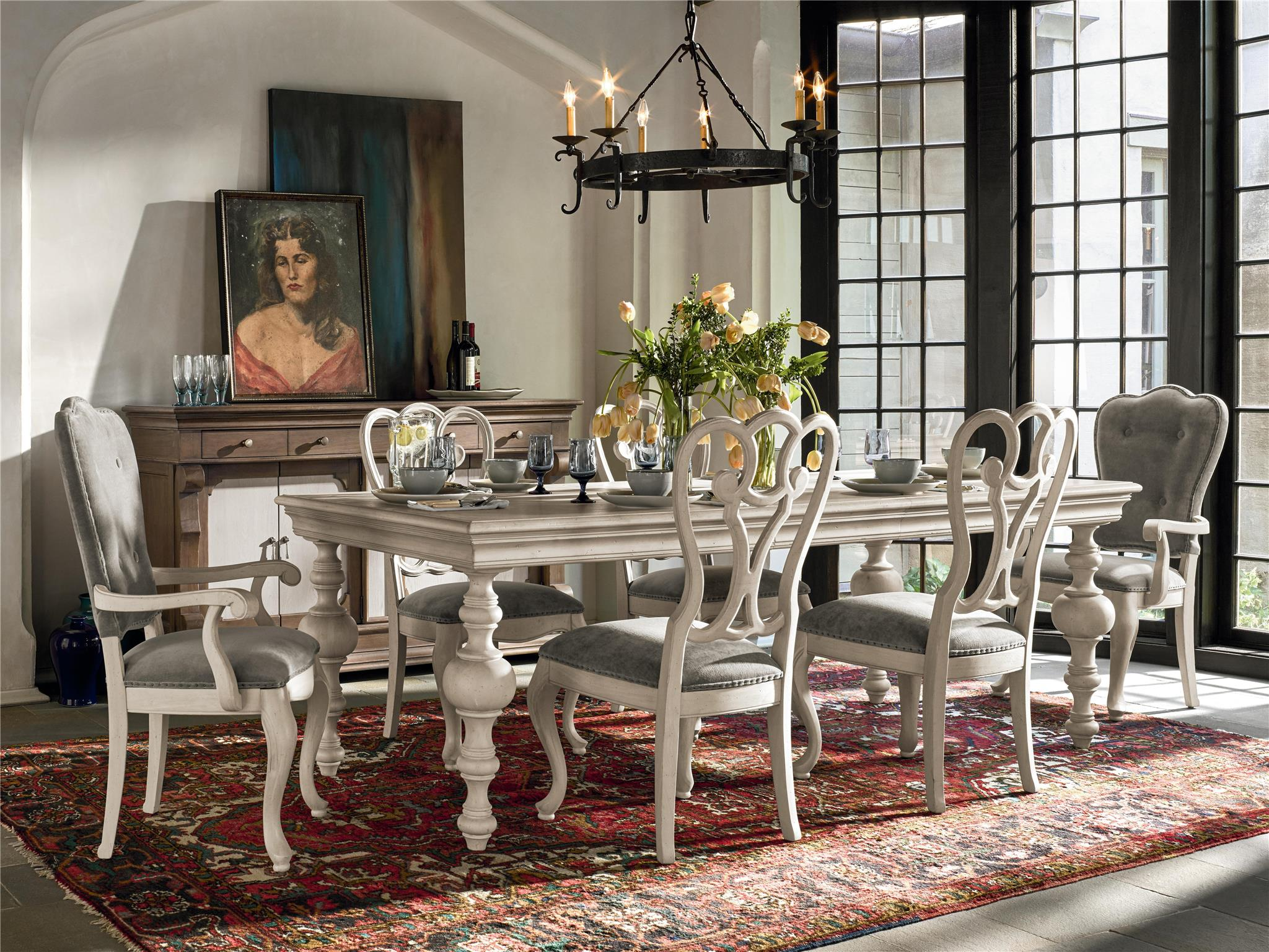 Belgian Cottage Dining Room Design