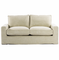 "Casual 70"" Linen Upholstered Sofa"