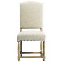 Camelback Upholstered Dining Chair