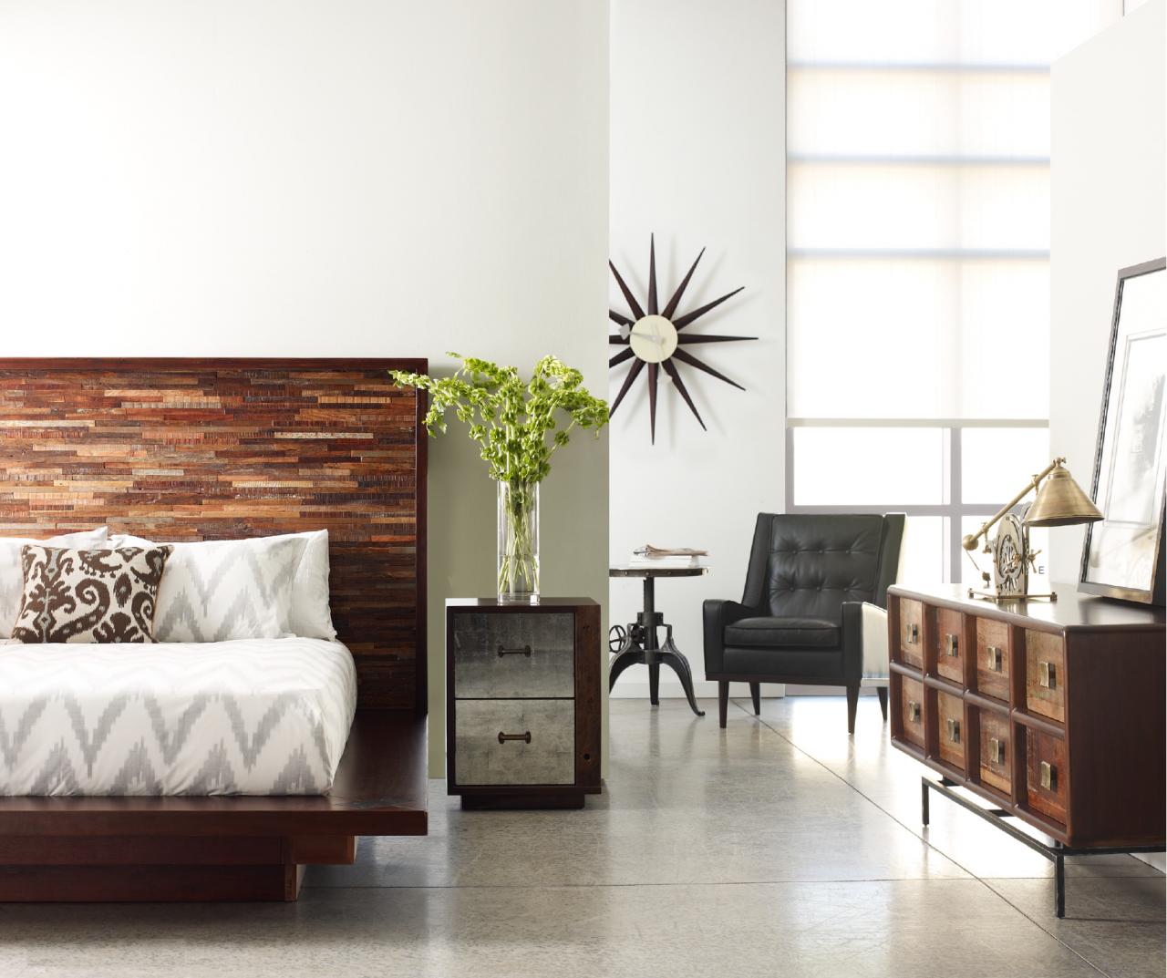 devon reclaimed wood king platform bed frame