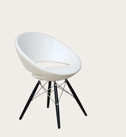 Crescent Wood Dining Chair