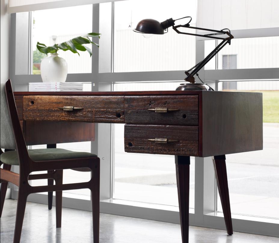 Mitchell Desk | Rustic Modern Home Office Desks | Zin Home