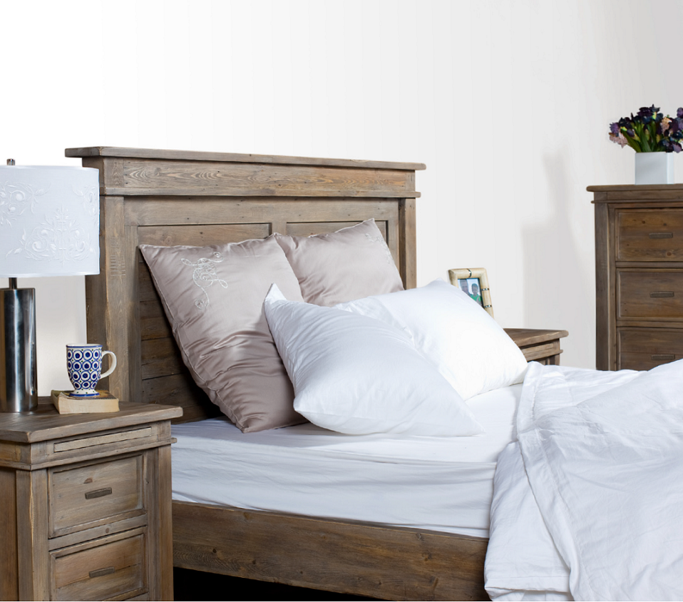 ... Sierra Settler Reclaimed Wood Queen Size Platform Beds ... - Sierra Reclaimed Wood Queen Size Platform Bed Zin Home