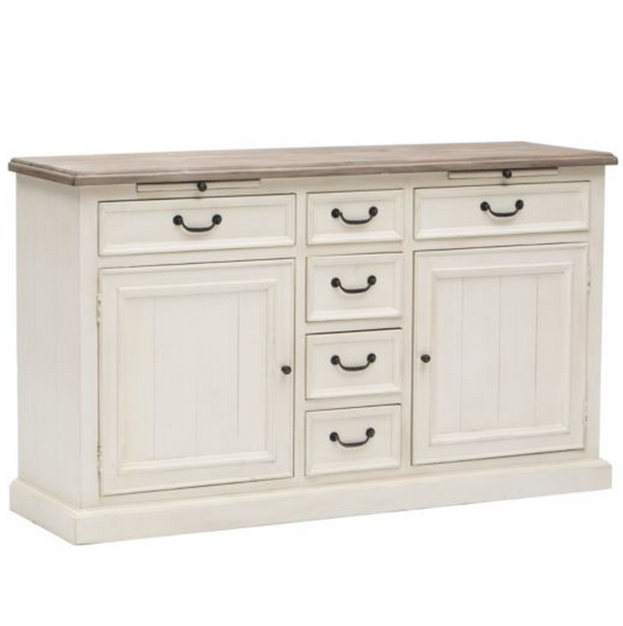 Cottage Buffet Sideboard White Zin Home