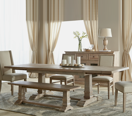 Hudson 110 Extension Dining Table