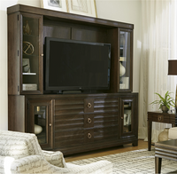 California Rustic Oak tv entertainment unit
