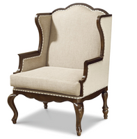 Sonoma Wingback upholstered host hostess chairs