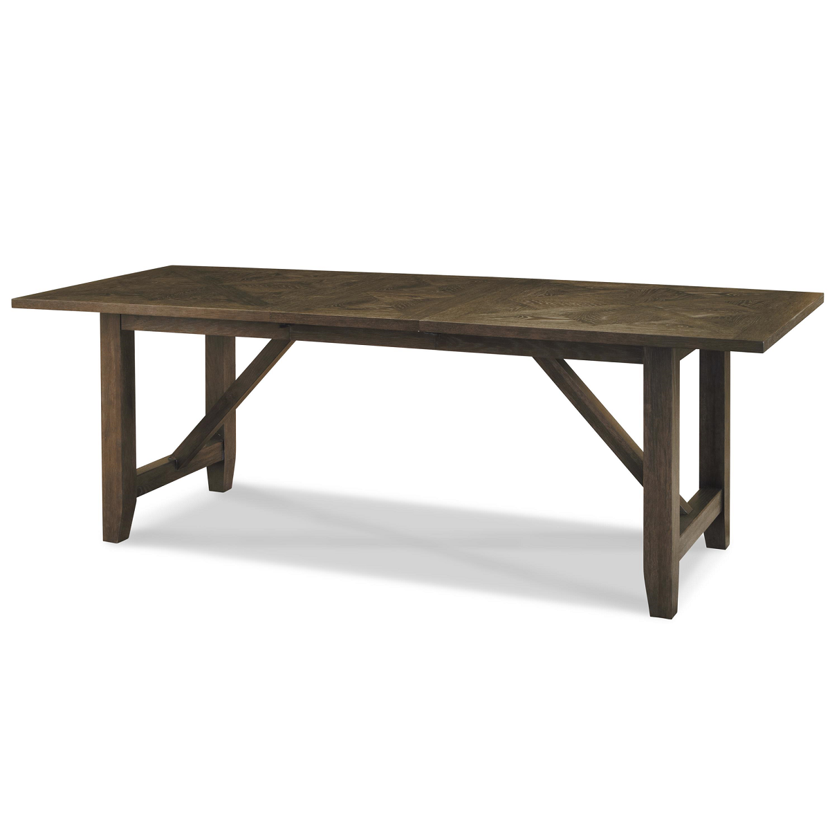 French Oak Extendable Farmhouse Kitchen Table 78 100 Zin Home