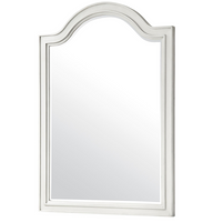 Allison Beach Cottage White Dresser Mirror