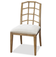 French Modern Slip Upholstered Dining Chair