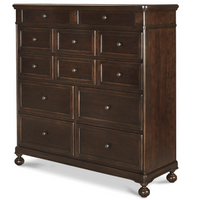 Proximity Cherry Wood 8 Drawer Dressing Chest