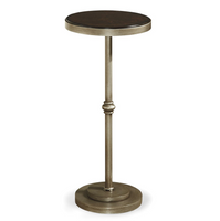 Proximity Industrial Bronze Metal Martini Table