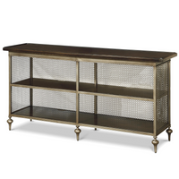 proximity industrial bronze metal console table - Metal Console Table
