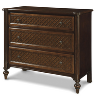 Proximity Cherry Wood 3 Drawers Hall Chest