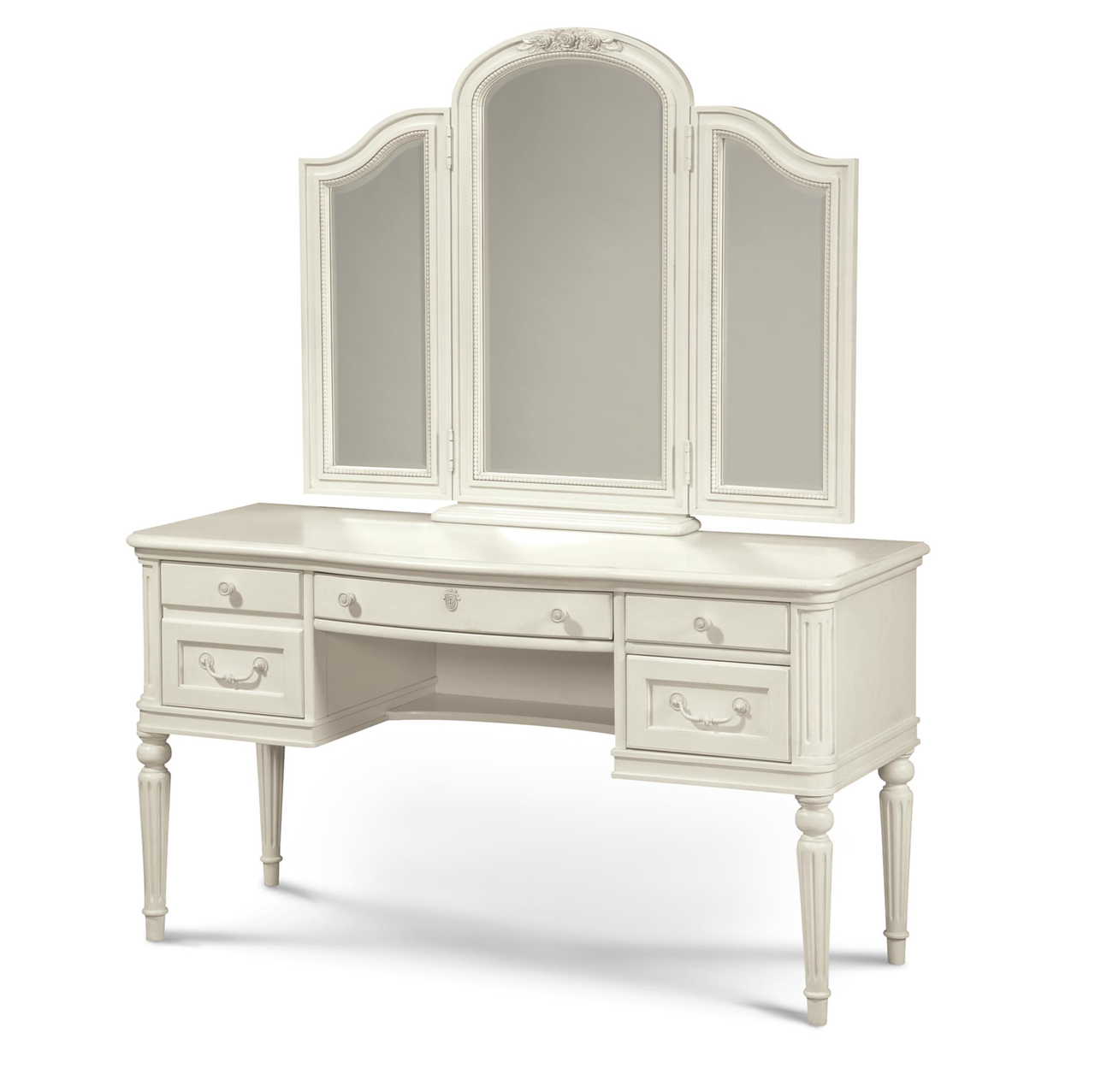 Rosalie Kids Vanity Desk - White | Zin Home
