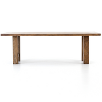 Montgomery Rustic Reclaimed Wood Farmhouse Dining Table 94""