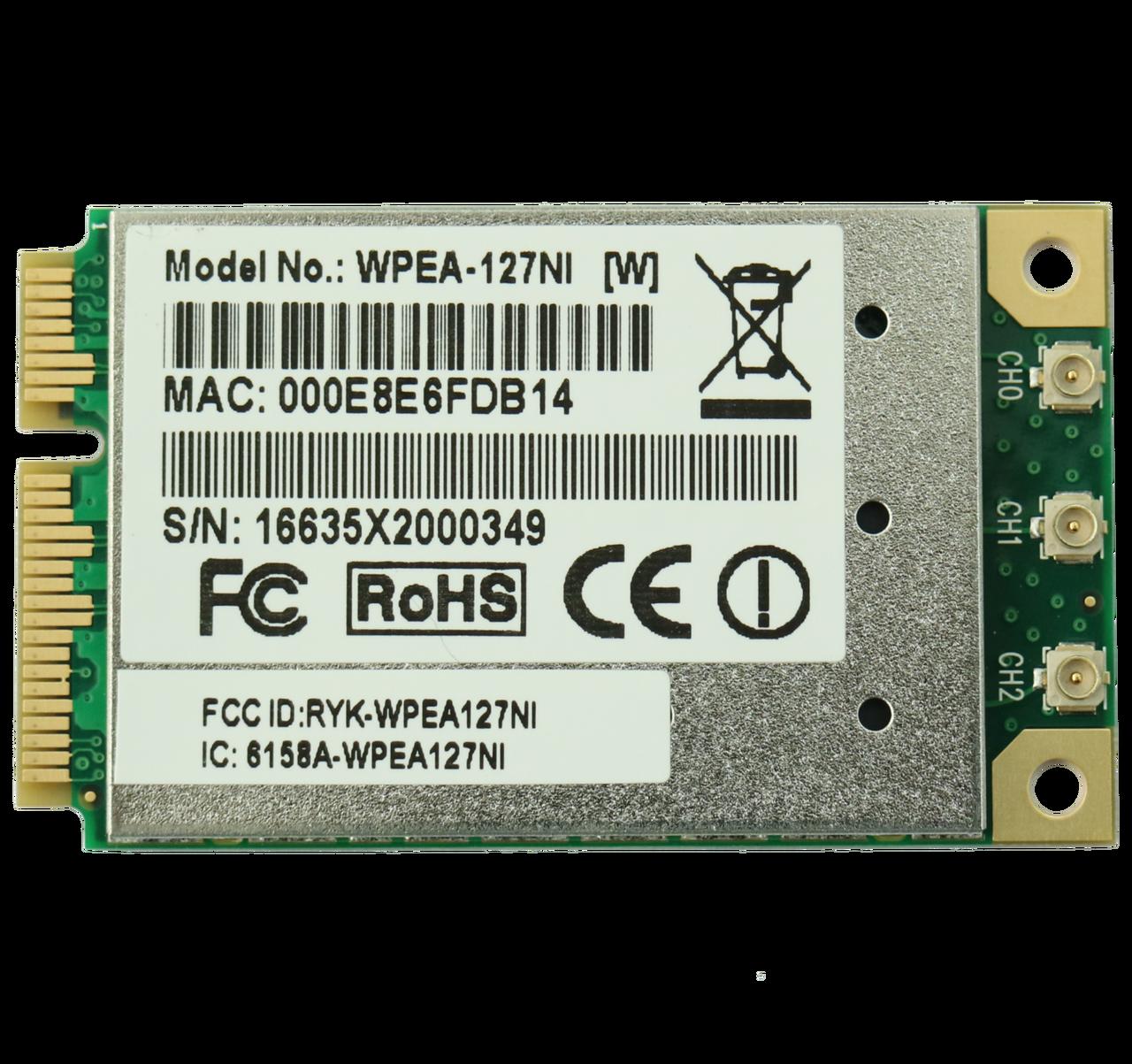 WPEA-127NI 802 11a/b/g/n Industrial-Grade Mini PCIe Module, Atheros