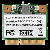 WPEQ-257ACN 802.11ac/b/g/n Mini PCIe Module, Qualcomm QCA9882-BR4A 2T2R