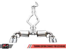 AWE Touring Edition Exhaust for G20 BMW M340i (GRP-EXH-BWG20M340I)