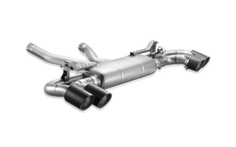 Akrapovic Titanium Slip-On Exhaust System w/o Tips for Porsche Cayenne (958)