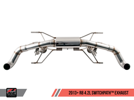 AWE Tuning SwitchPath Exhaust  for 2014+ Audi R8 4.2L Coupe