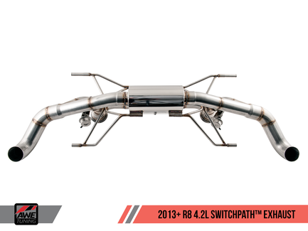 AWE Tuning SwitchPath Exhaust  for 2014+ Audi R8 4.2L Spyder