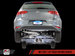 AWE Tuning Track Edition Exhaust with Diamond Black Tips (90mm) for VW Mk7 Golf 1.8T