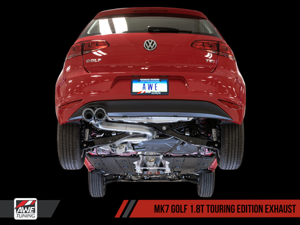 AWE Tuning Touring Edition Exhaust with Diamond Black Tips (90mm)