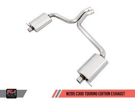 AWE Tuning Touring Edition Exhaust for Mercedes-Benz W205 C300
