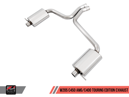 AWE Tuning Touring Edition Exhaust for Mercedes-Benz W205 C450 AMG / C401