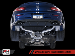 AWE Tuning Track Edition Exhaust for Mercedes-Benz W205 AMG C63/S Coupe (3020-31020)