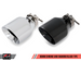 Chrome Silver and Diamond Black Exhaust Tips