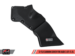 AWE S-FLO Carbon Cover for Audi B8 - B8.5 - 8R A4/S4/A5/S5/Q5/SQ5 (2660-11012)
