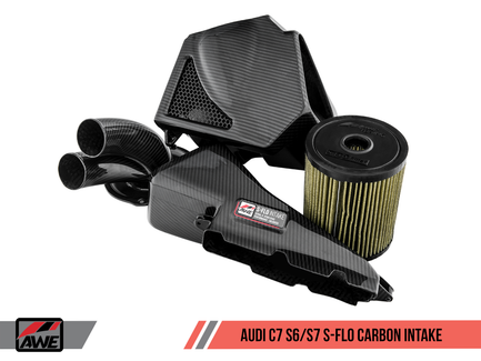 AWE S-FLO Carbon Intake for Audi C7 S6 / S7 (2660-15020)
