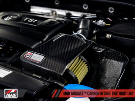 AWE AirGate Carbon Intake for Audi / VW MQB (1.8T / 2.0T) without Lid